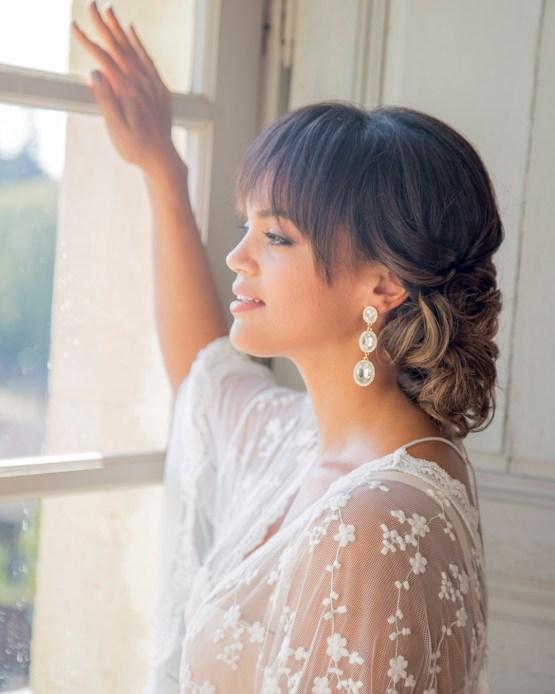 Autumn French Chateau Peach Wedding Inspiration – Szu Designs 3