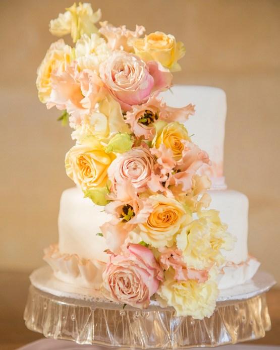 Autumn French Chateau Peach Wedding Inspiration – Szu Designs 36