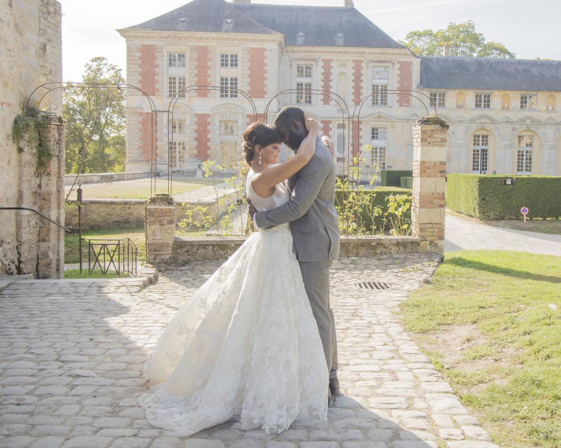Autumn French Chateau Peach Wedding Inspiration – Szu Designs 41