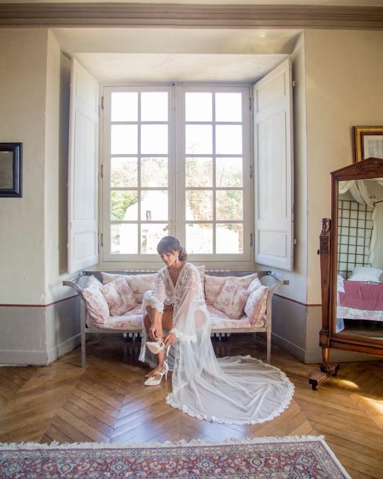 Autumn French Chateau Peach Wedding Inspiration – Szu Designs 7