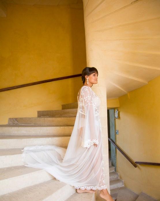 Autumn French Chateau Peach Wedding Inspiration – Szu Designs 8