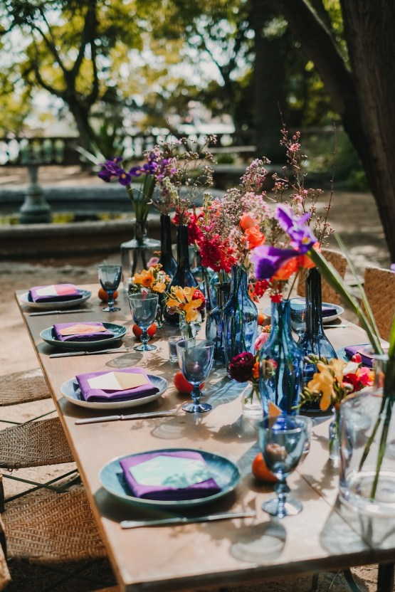 Berry and Citrus Colorful Botanical Garden Wedding Inspiration – Luisa Starling – Nulyweds 12