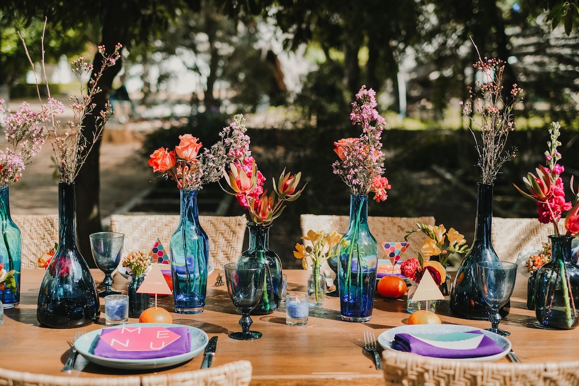 Berry and Citrus Colorful Botanical Garden Wedding Inspiration – Luisa Starling – Nulyweds 34