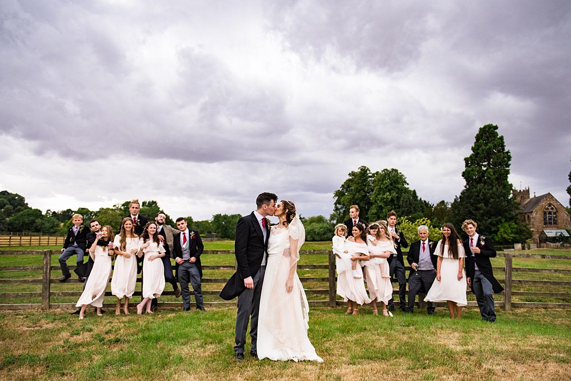 Charming English Wildflower Wedding At The Family Farm – Jonny Barratt Wedding Photography 13