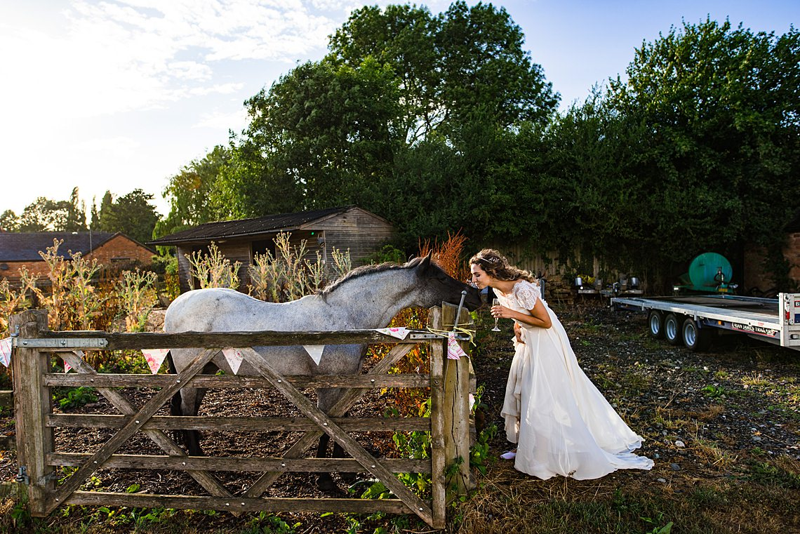 Charming English Wildflower Wedding At The Family Farm – Jonny Barratt Wedding Photography 14
