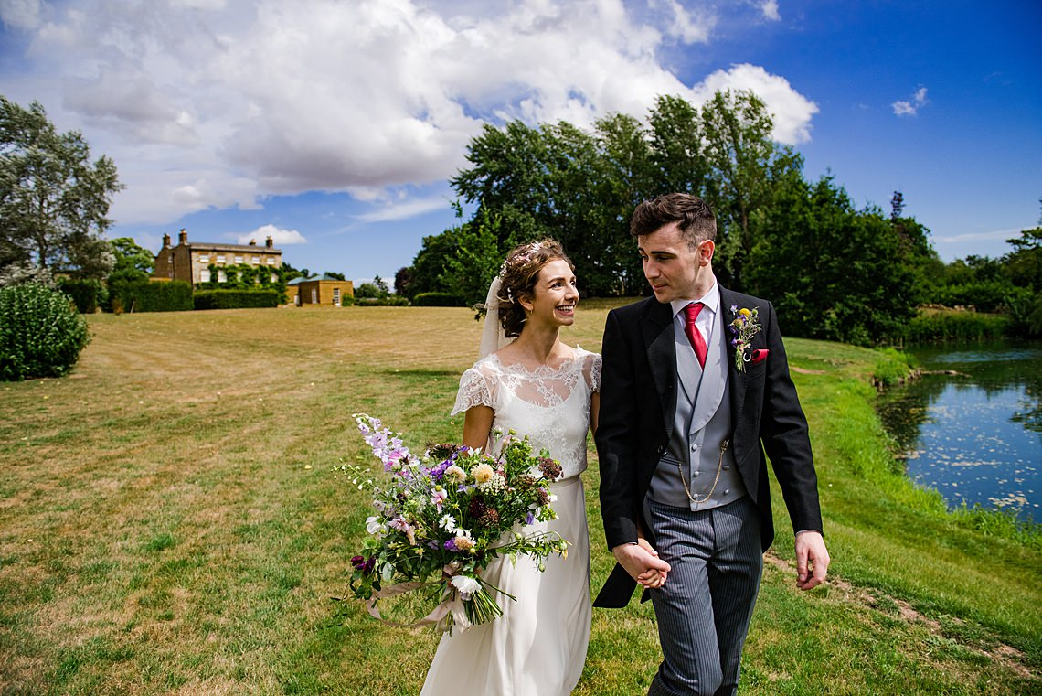 Charming English Wildflower Wedding At The Family Farm – Jonny Barratt Wedding Photography 9