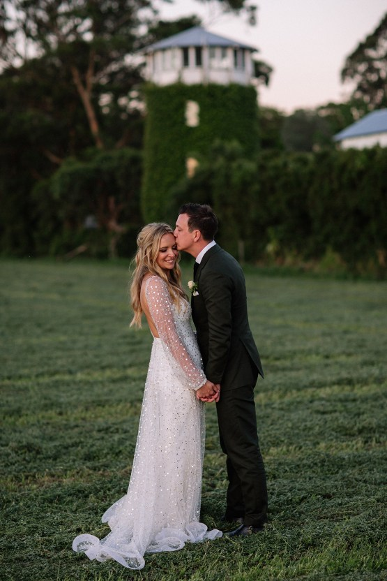 Chic Australian Garden Wedding with A Sparkling Wedding Dress – David Campbell Imagery 22