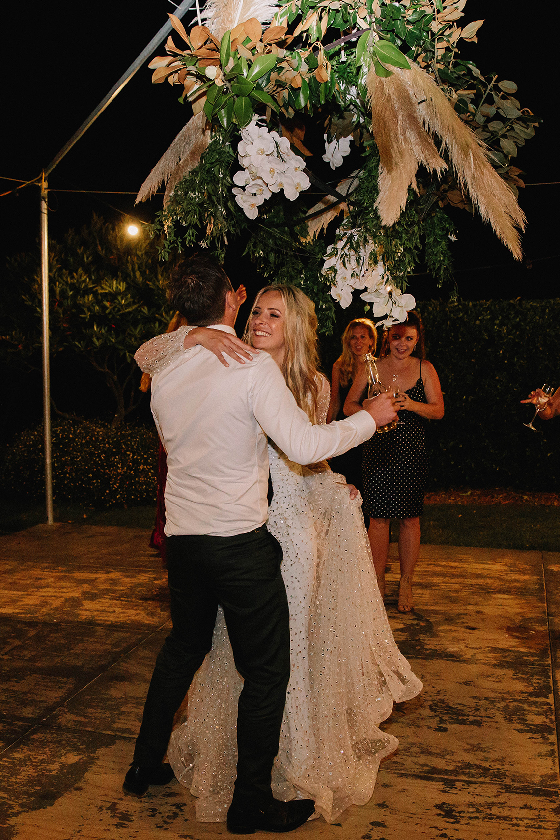 Chic Australian Garden Wedding with A Sparkling Wedding Dress – David Campbell Imagery 24