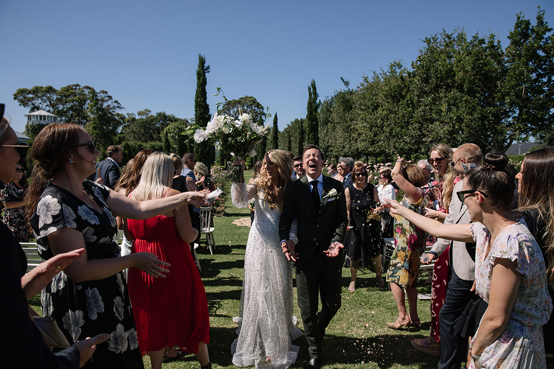 Chic Australian Garden Wedding with A Sparkling Wedding Dress – David Campbell Imagery 4