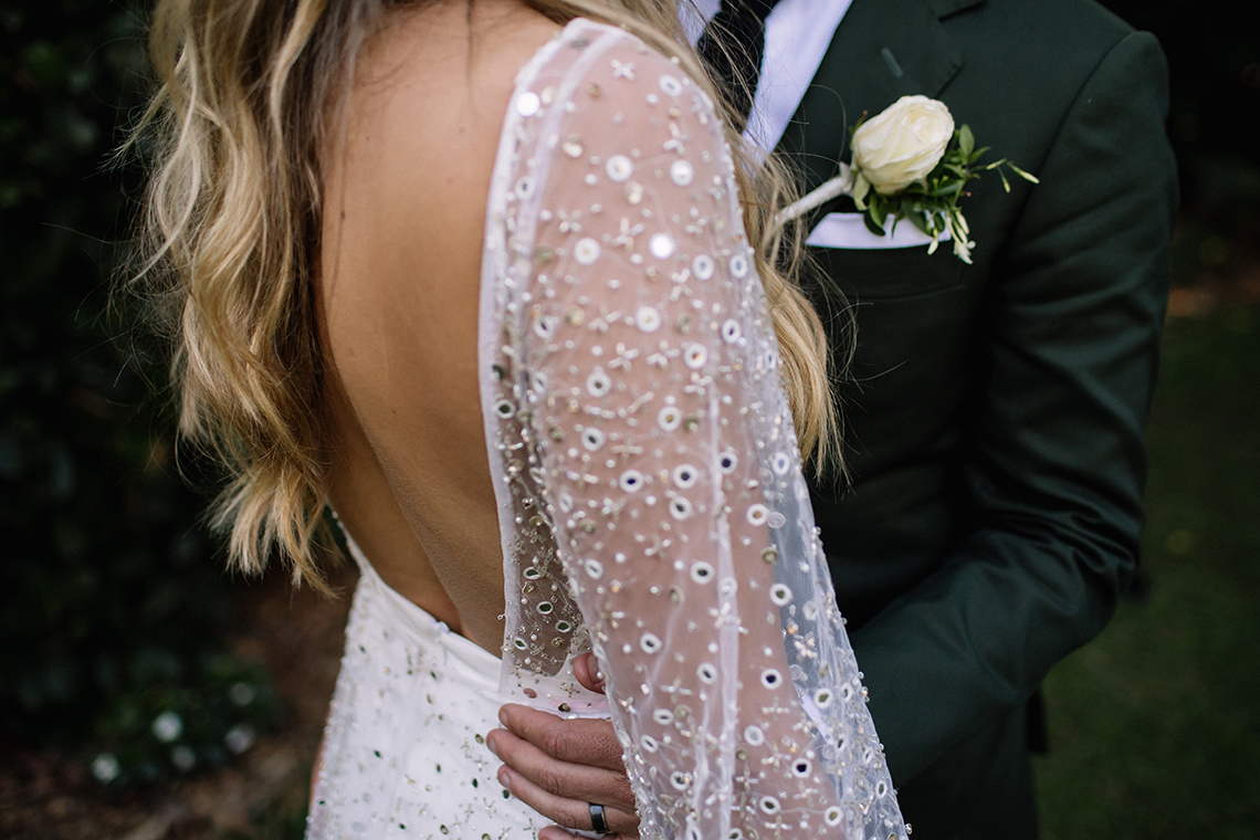 Chic Australian Garden Wedding with A Sparkling Wedding Dress – David Campbell Imagery 6