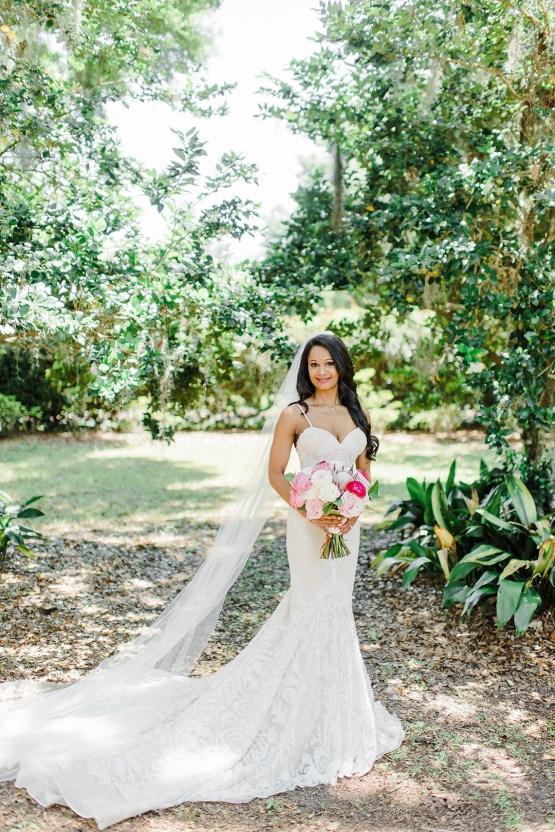 Elegant Blush Southern Plantation Wedding – Molliner Photography 12