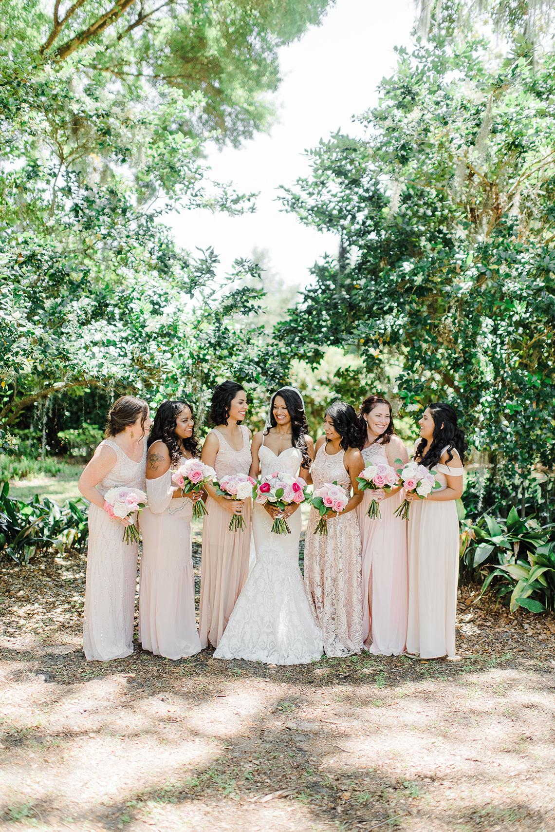 Elegant Blush Southern Plantation Wedding – Molliner Photography 14