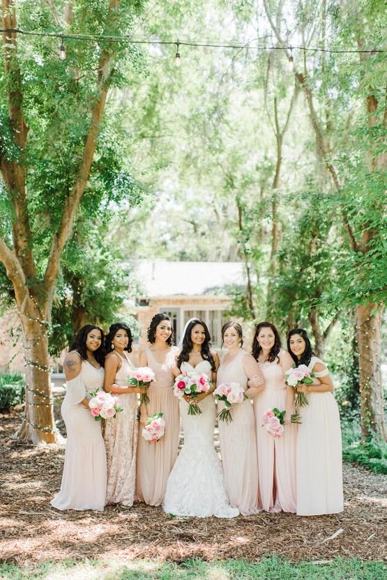 Elegant Blush Southern Plantation Wedding – Molliner Photography 15