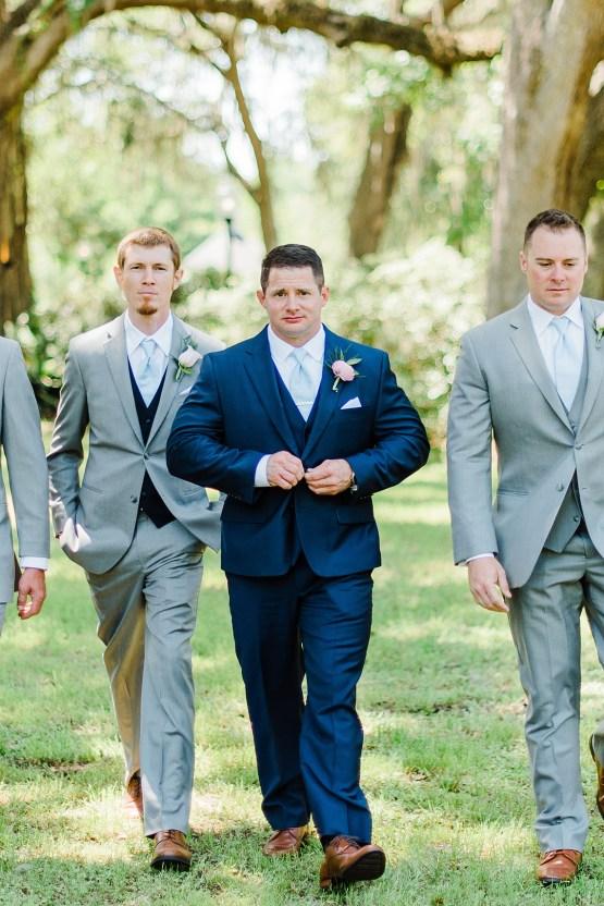 Elegant Blush Southern Plantation Wedding – Molliner Photography 21