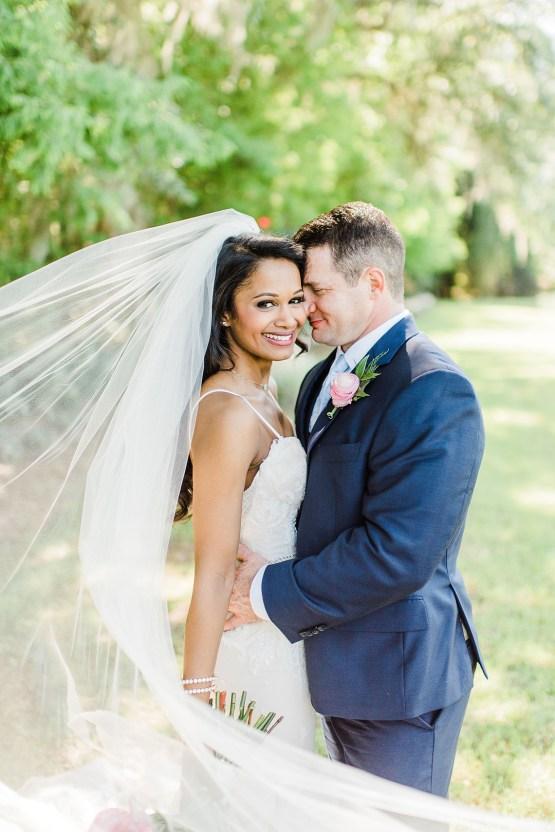 Elegant Blush Southern Plantation Wedding – Molliner Photography 27