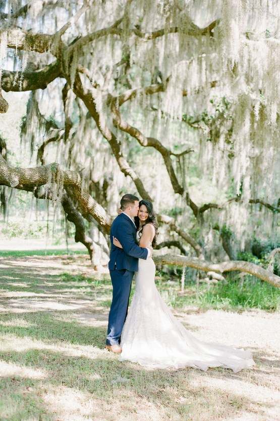 Elegant Blush Southern Plantation Wedding – Molliner Photography 29
