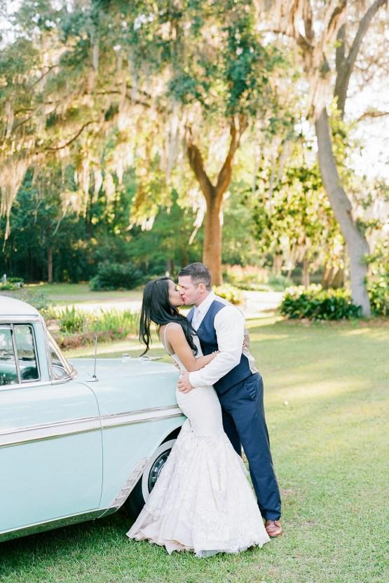 Elegant Blush Southern Plantation Wedding – Molliner Photography 31