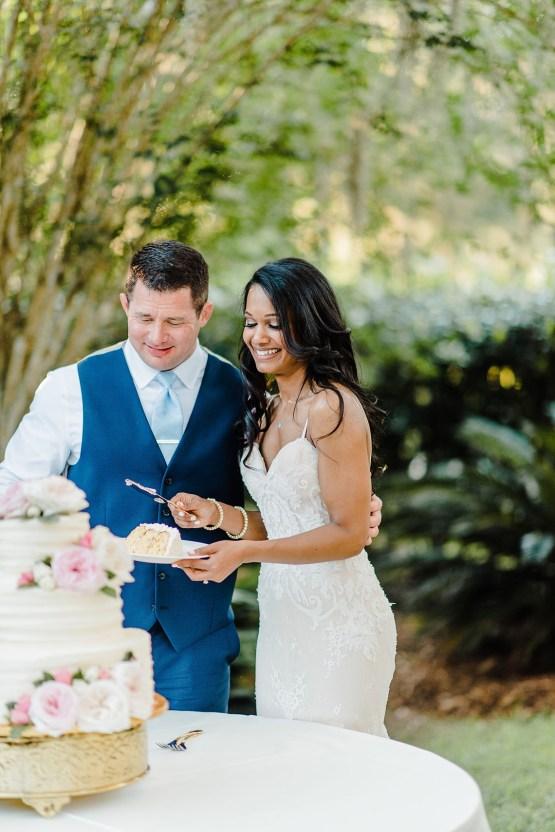 Elegant Blush Southern Plantation Wedding – Molliner Photography 43