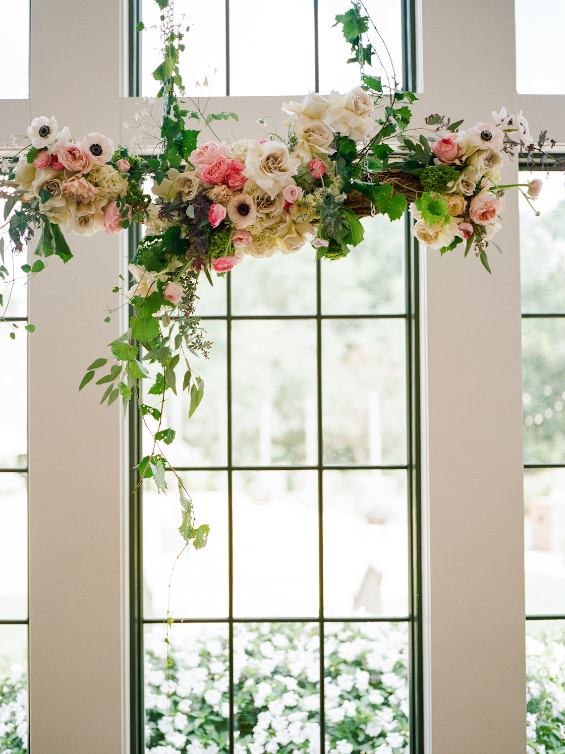Feminine Floral-Filled Alabama Wedding Inspiration with a Getaway Bicycle – Davy Whitener 22