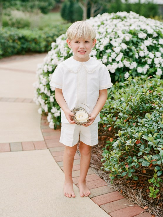 Feminine Floral-Filled Alabama Wedding Inspiration with a Getaway Bicycle – Davy Whitener 28