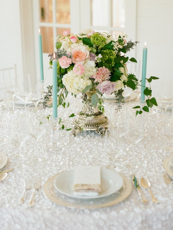 Feminine Floral-Filled Alabama Wedding Inspiration with a Getaway Bicycle – Davy Whitener 3