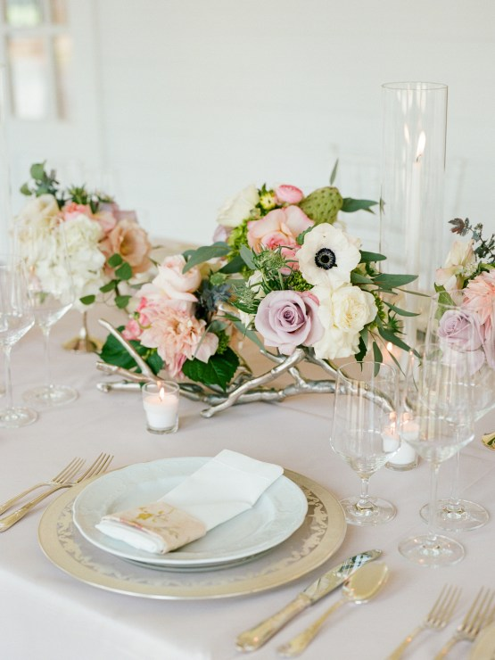 Feminine Floral-Filled Alabama Wedding Inspiration with a Getaway Bicycle – Davy Whitener 7