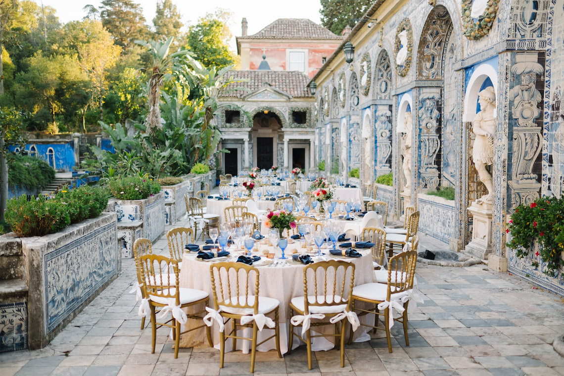 Historical Blue-tiled Palace Destination Wedding in Portugal – Jesus Caballero Photography 40