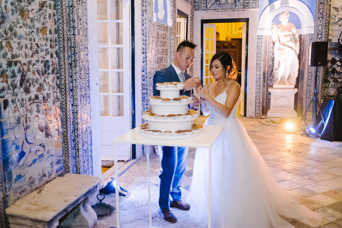 Historical Blue-tiled Palace Destination Wedding in Portugal – Jesus Caballero Photography 42