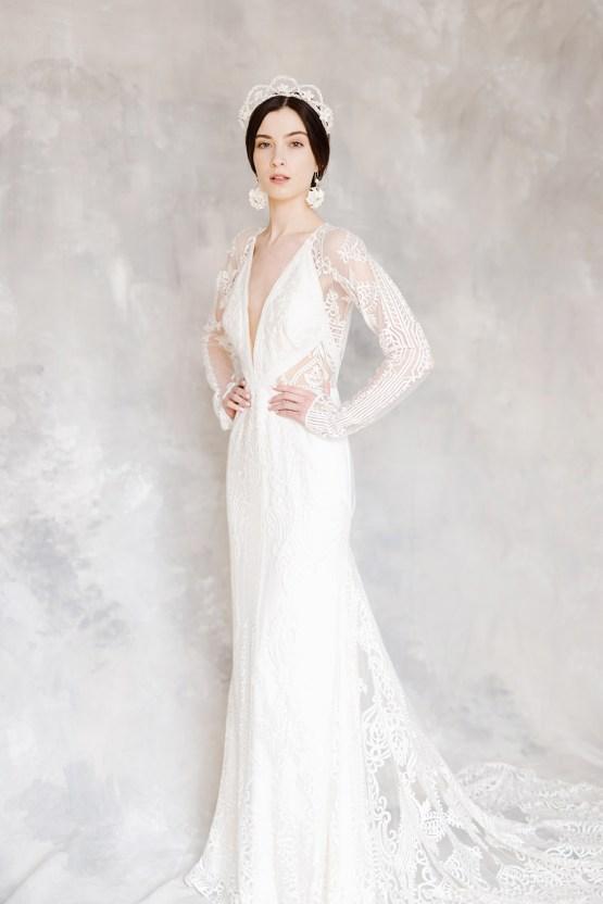 Luxurious and Fashion-Forward All White Wedding Inspiration – Emma Pilkington Photography 18