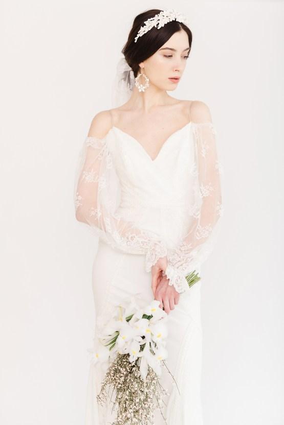 Luxurious and Fashion-Forward All White Wedding Inspiration – Emma Pilkington Photography 32