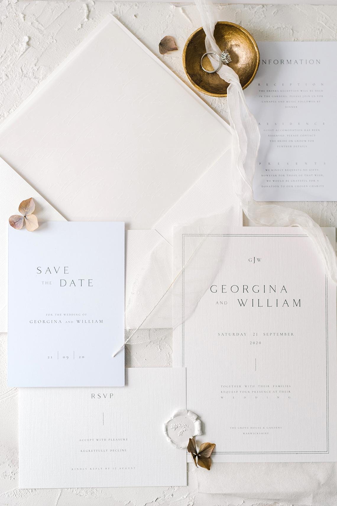 Luxurious and Fashion-Forward All White Wedding Inspiration – Emma Pilkington Photography 40
