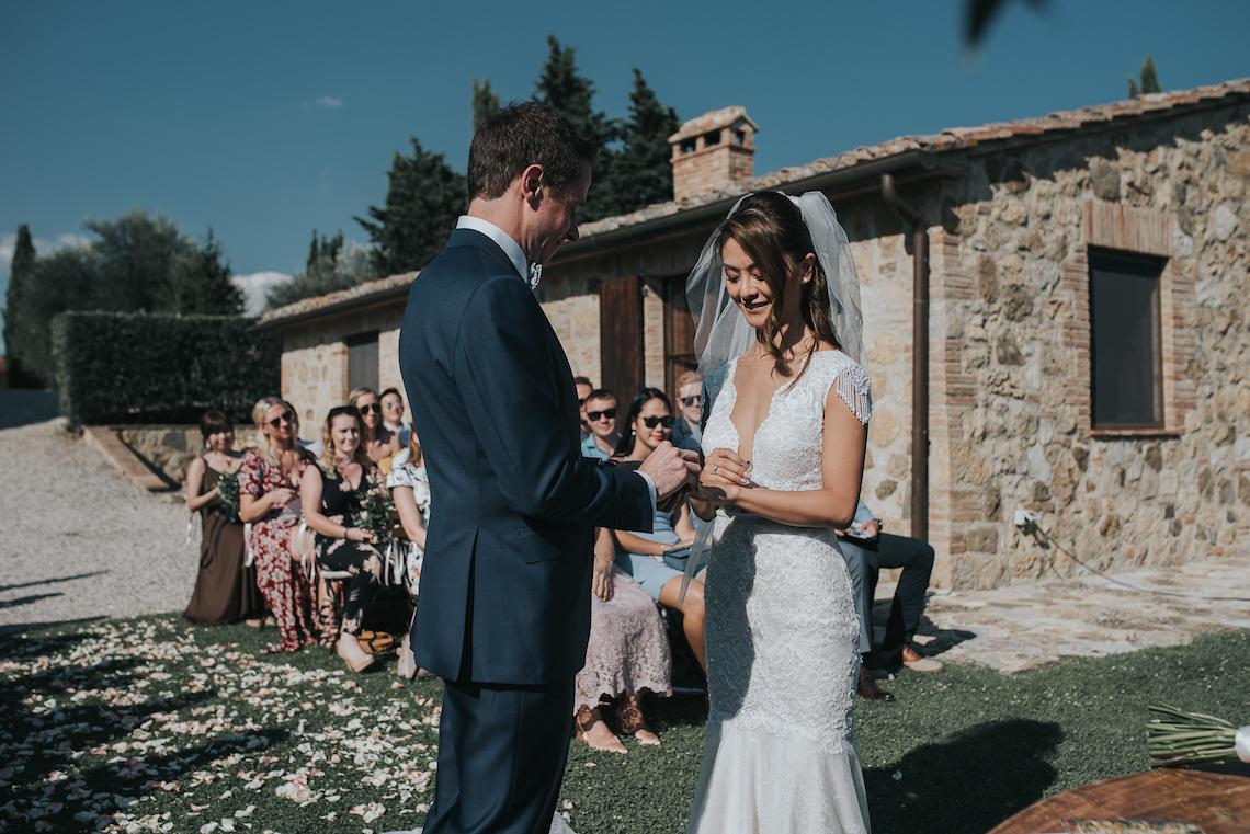 Romantic and Traditional Tuscan Destination Wedding – Daniela Nizzola 9