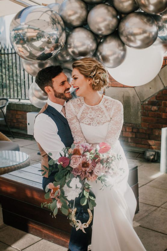 Vintage Glamour Wedding Inspiration in Manchester – Gail Secker Photography 26