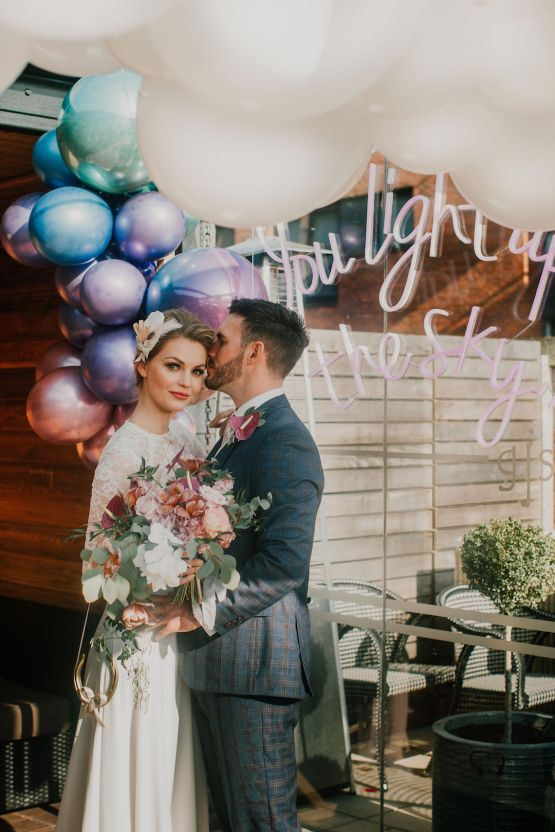 Vintage Glamour Wedding Inspiration in Manchester – Gail Secker Photography 34