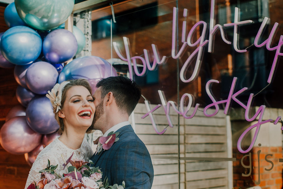 Vintage Glamour Wedding Inspiration in Manchester – Gail Secker Photography 4