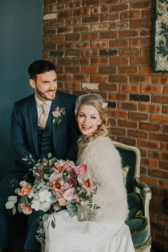 Vintage Glamour Wedding Inspiration in Manchester – Gail Secker Photography 49