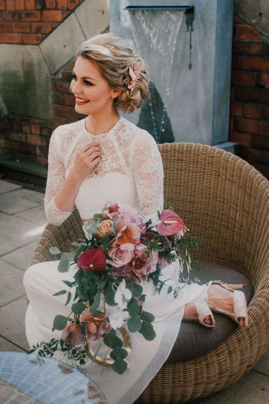 Vintage Glamour Wedding Inspiration in Manchester – Gail Secker Photography 52