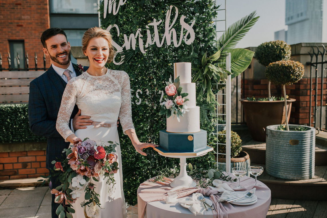 Vintage Glamour Wedding Inspiration in Manchester – Gail Secker Photography 8