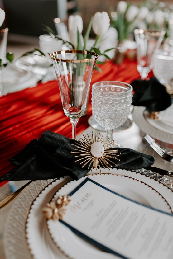 Whimsical Red and Green Wedding Inspiration with Russian Folk Details – Whim and Willow Photo 11