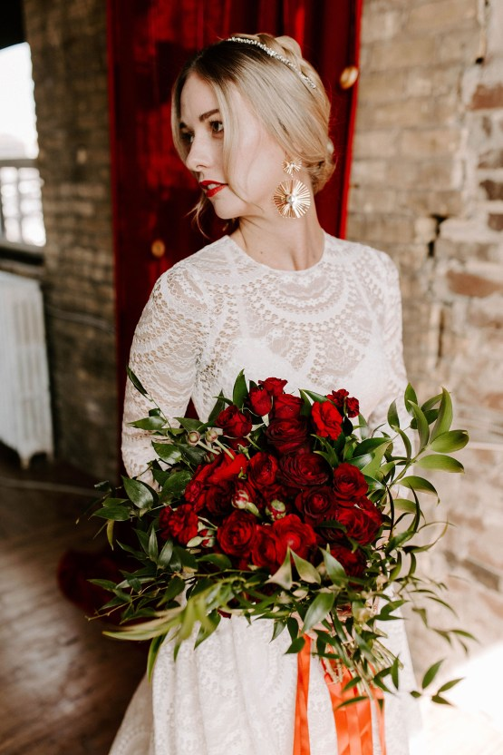Whimsical Red and Green Wedding Inspiration with Russian Folk Details – Whim and Willow Photo 34