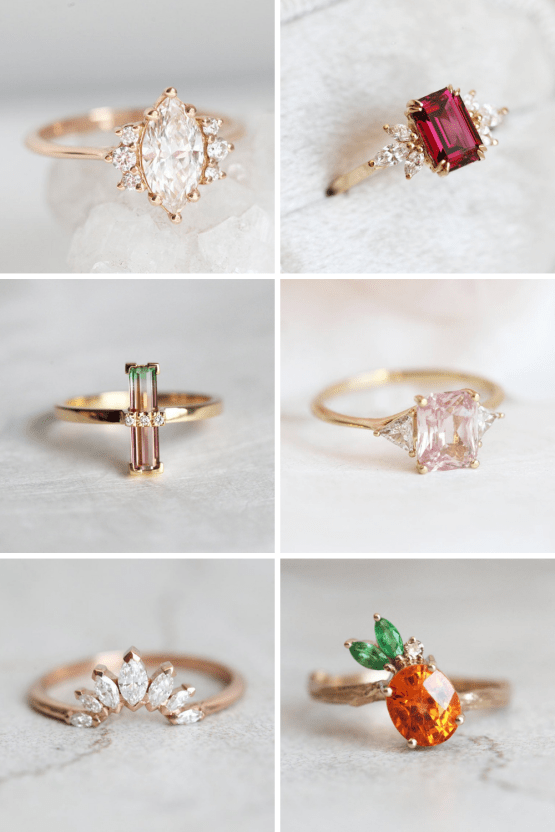 10 Best Places to Buy Wedding and Engagement Rings Online – Etsy Capucinne (1)