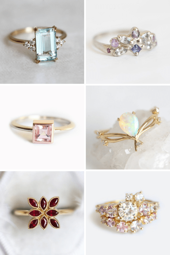 10 Best Places to Buy Wedding and Engagement Rings Online – Etsy Capucinne