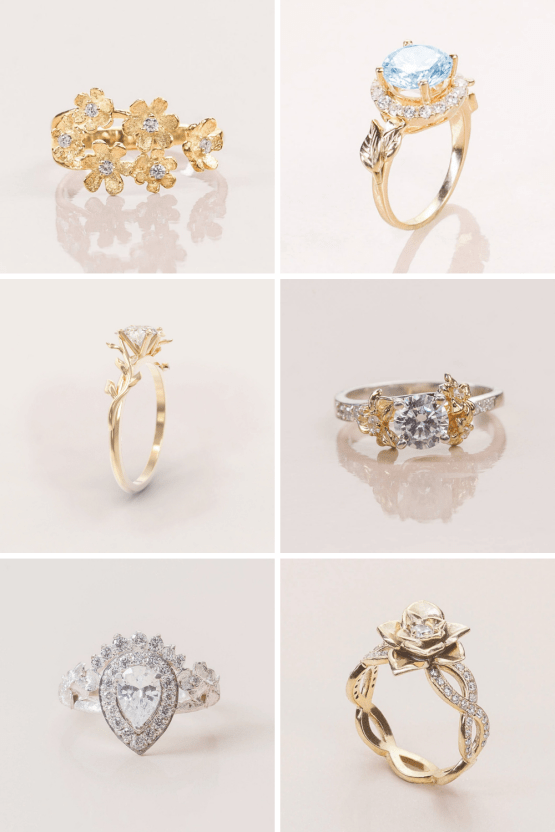 10 Best Places to Buy Wedding and Engagement Rings Online – Roelavi Atelier on Etsy