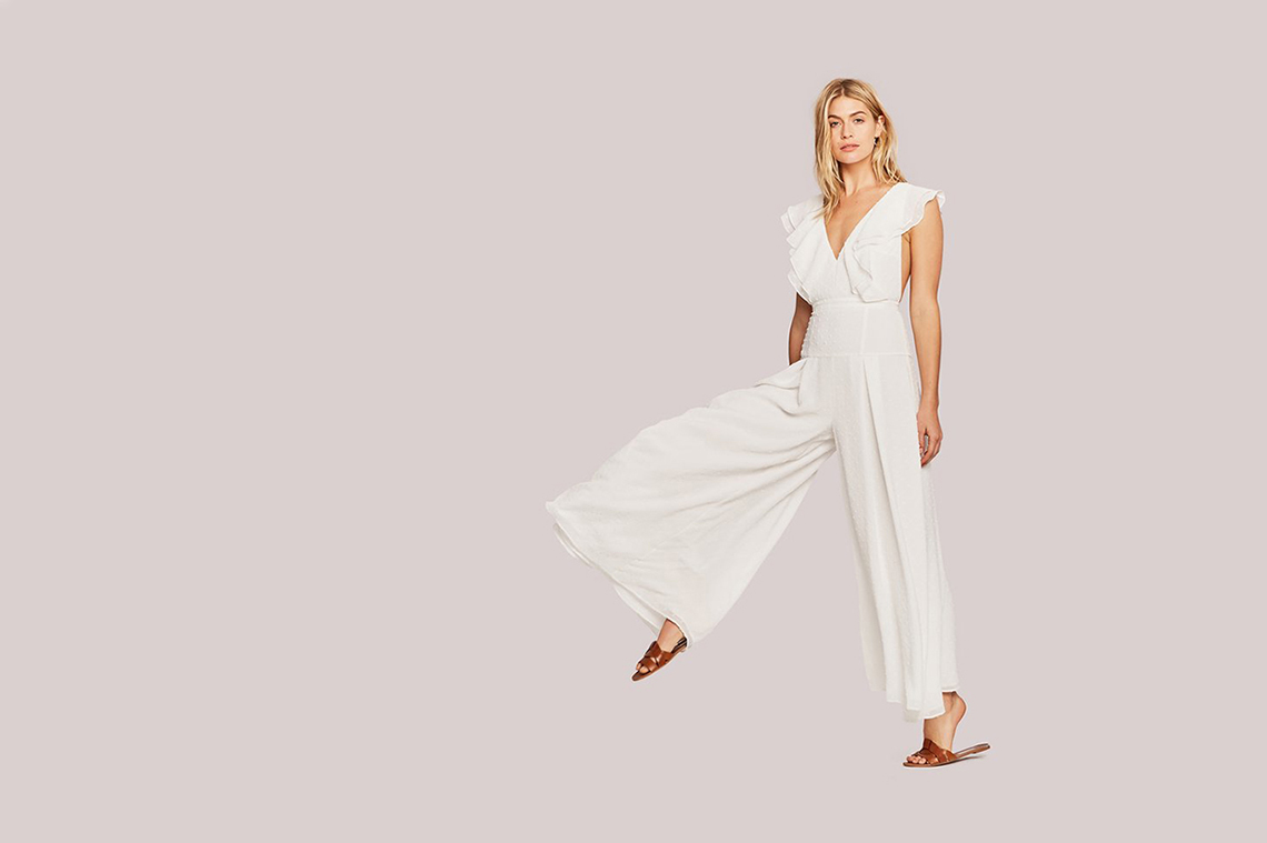 15 Stylish Bridal Jumpsuits for Your Wedding