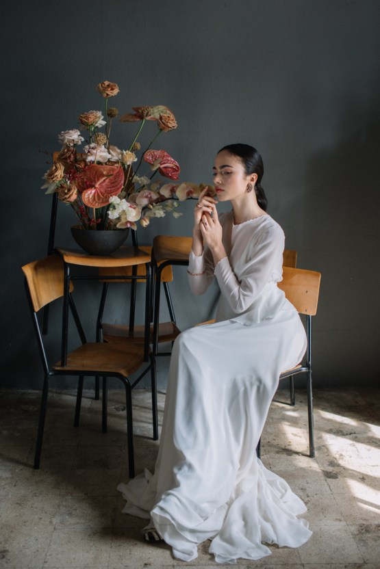 Artistic Avant-Garde Spanish Wedding Inspiration – Vanessa Illi 1
