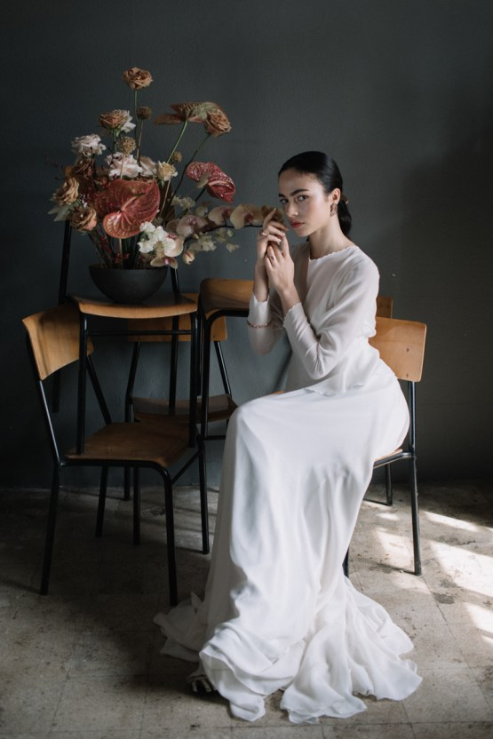 Artistic Avant-Garde Spanish Wedding Inspiration – Vanessa Illi 45