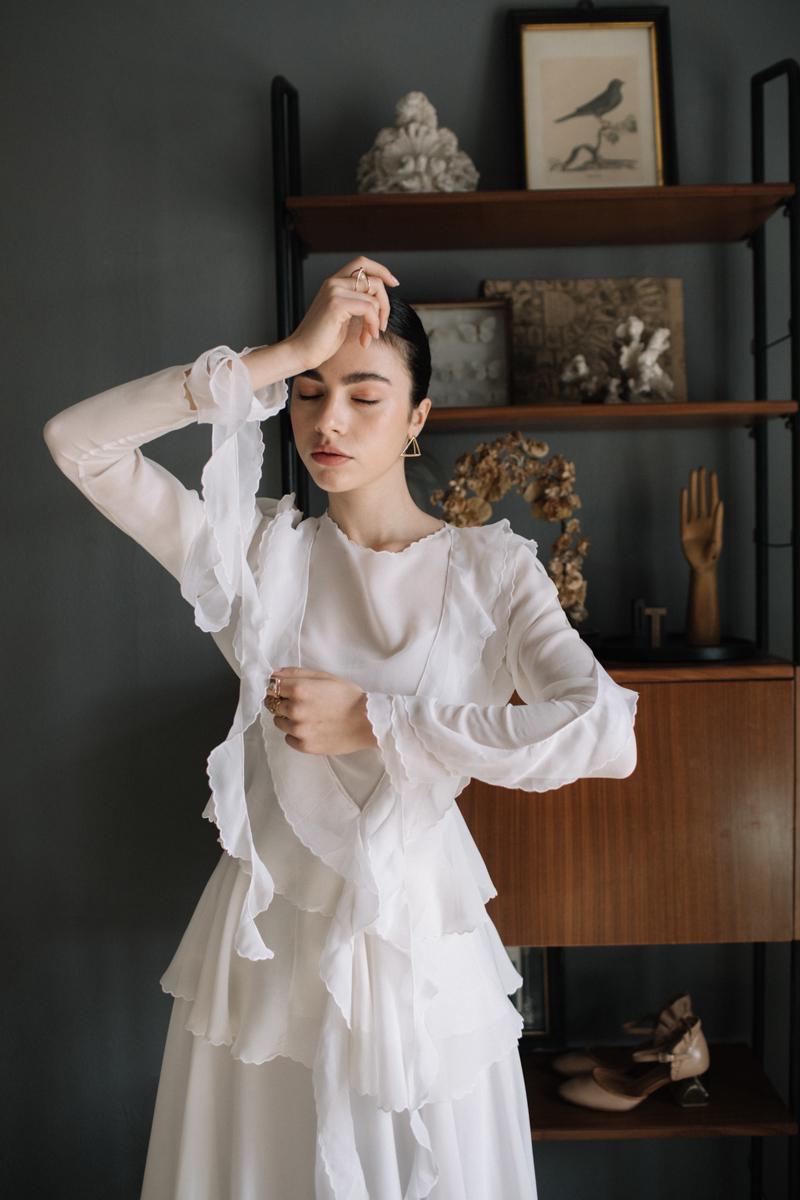 Artistic Avant-Garde Spanish Wedding Inspiration – Vanessa Illi 9