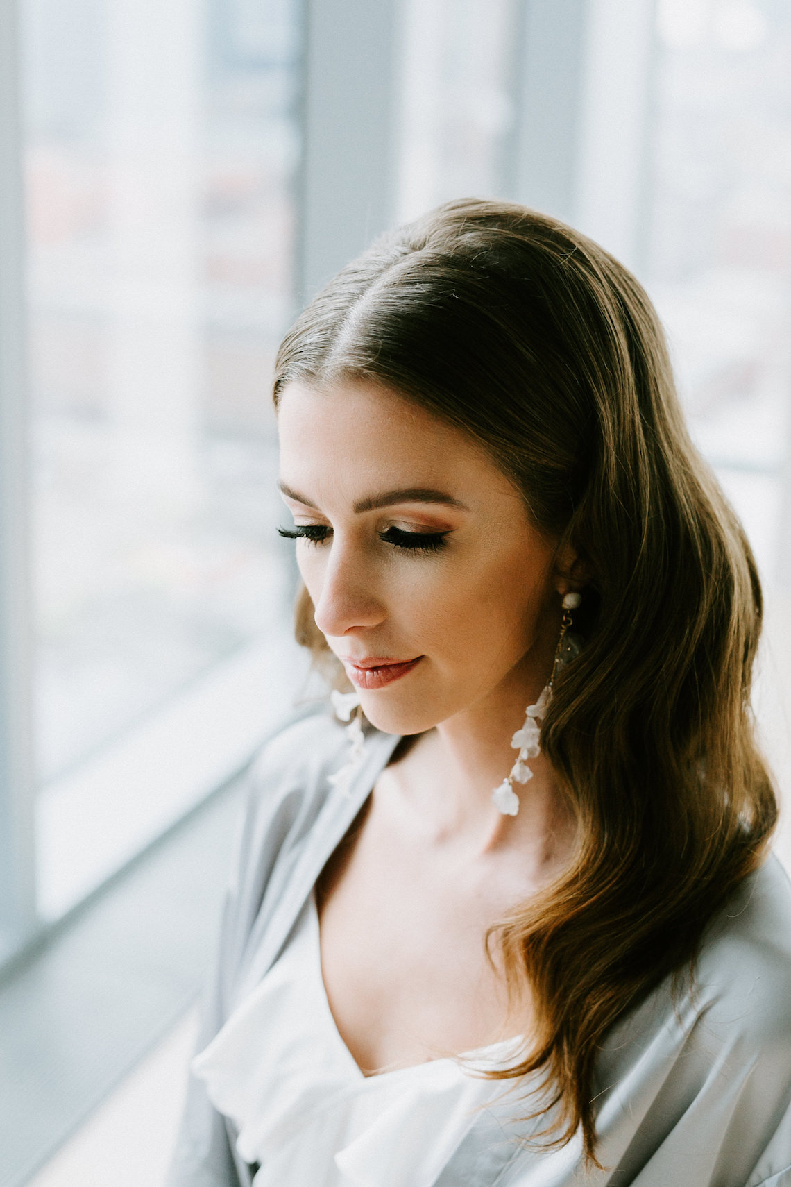 Chic Fall Loft Wedding Inspiration from Toronto – Shannon Robbins Photography – June Bloom Events 16