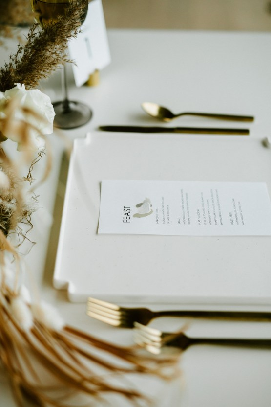 Chic Fall Loft Wedding Inspiration from Toronto – Shannon Robbins Photography – June Bloom Events 33