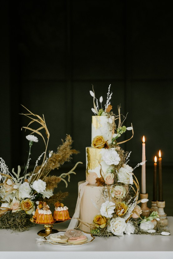 Chic Fall Loft Wedding Inspiration from Toronto – Shannon Robbins Photography – June Bloom Events 36